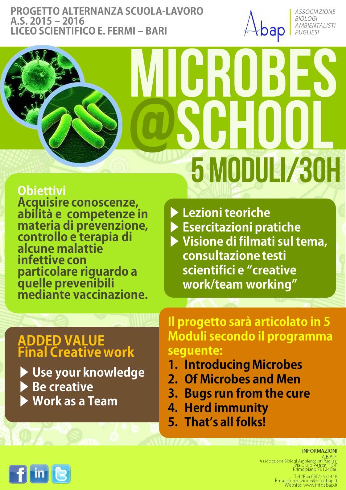 Microbes@School_locandina_ABAP